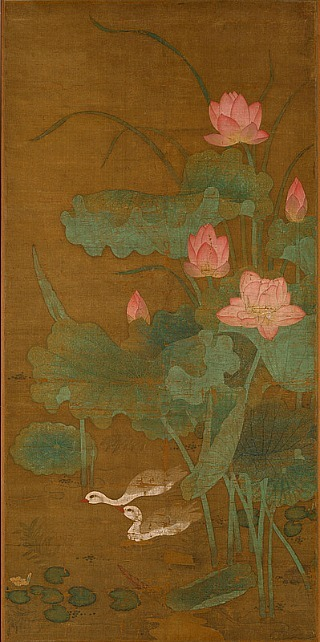 Unknown (China) Lotus and Waterbirds 1300