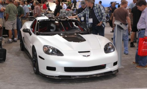2011 Chevrolet Corvette Z06X Track Car Concept at SEMA