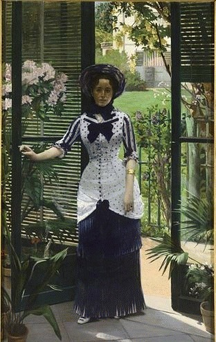 Albert Bartholomé  In the Greenhouse  1881