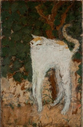 Pierre Bonnard The White Cat  1894
