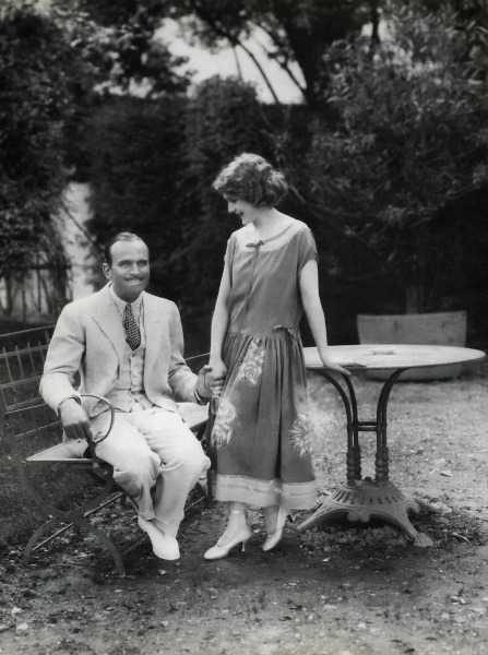 Douglas Fairbanks and Mary Pickford C. 1920s