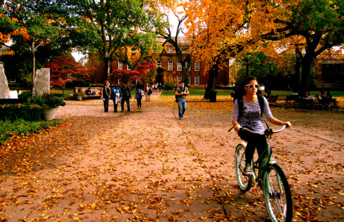 New Brunswick: Voorhees Mall, Rutgers University (via)