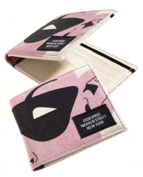 Robin mask wallet, by Jack Spade, $80[circa Fall 2009, featured in Bloomingdale's DC line] In which, I totes need to make a replica of this wallet now.