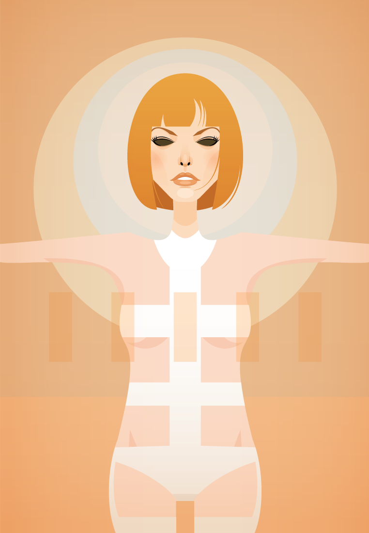 Me too. stanleychowillustration:  I love Leeloo