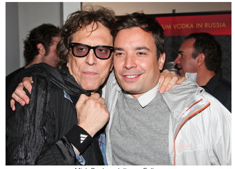 "Fun times at Mick Rock's ""Exposed"" photo show and after party with Jimmy Fallon + all those downtown kids. READ MORE"