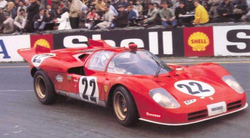 Ferrari 512S at Spa, 1970.