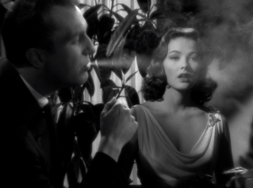the-asphalt-jungle:  Vincent Price and Gene Tierney Laura - (1944)