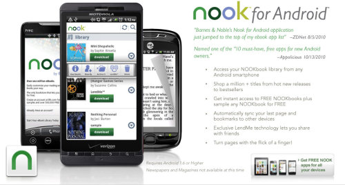 #HarrysApp of Week: Nook for Android. Browse new book releases, best sellers, and classics. Read samples FREE - all on your Droid phone or iPad