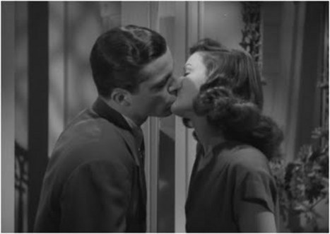 "the-asphalt-jungle:  Dana Andrews and Gene Tierney ""Get some sleep. Forget the whole thing, like a bad dream."" Laura - (1944)"