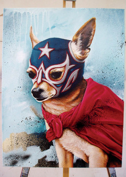 artlove:  'Luchahuahua' (by Mike C)