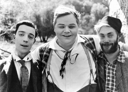Buster Keaton, Fatty Arbuckle, Al St. John - Didn't Fatty Arbuckle throw a party that a lady died in and which led to a total change in the way films were made? Or something?