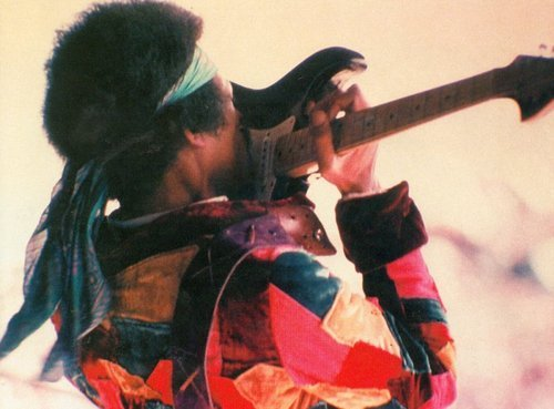 lifesaspazz:  Jimi Hendrix  my most favorite guitar player, ever