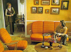 kitchorama:  another couple in domestic bliss…  … Vintage Orange  bliss