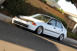 George Rivera's '93 Honda Civic Ferio