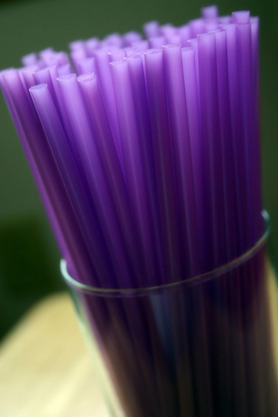 Purple Straws (by Lauren Baker)