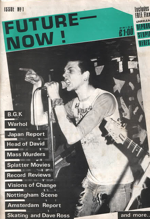 Punk Zine: Future Now. Issue 1.