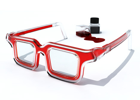 Rbg Rainbow Glasses by Luís Porém » Yanko Design