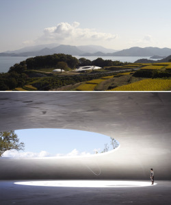 annelennard:  Teshima Art Project Museum by Ryue Nishizawa of SANAA.