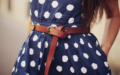 jetaimebella:  I think adding belts onto outfits spices things up.