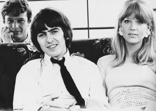 George & Pattie with Brian ~ 1965