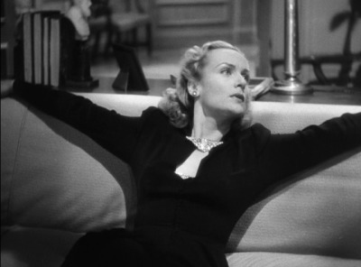 Carole Lombard in Hitchcock's MR. AND MRS. SMITH