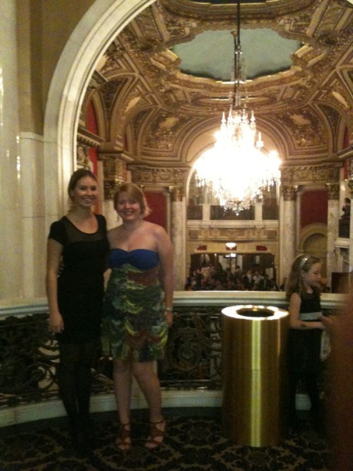 mahfablife:  date night. we saw la bayadere. it was so beautiful! and our student rush seats were amazing.