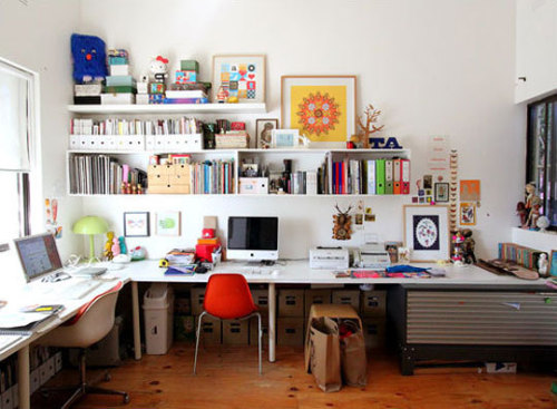 i always love seeing work space freshandjuicybits:  apt therapy