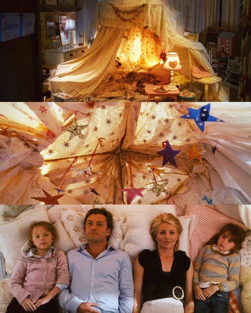 Famous Friday: super-cosy tepee from The Holiday movie