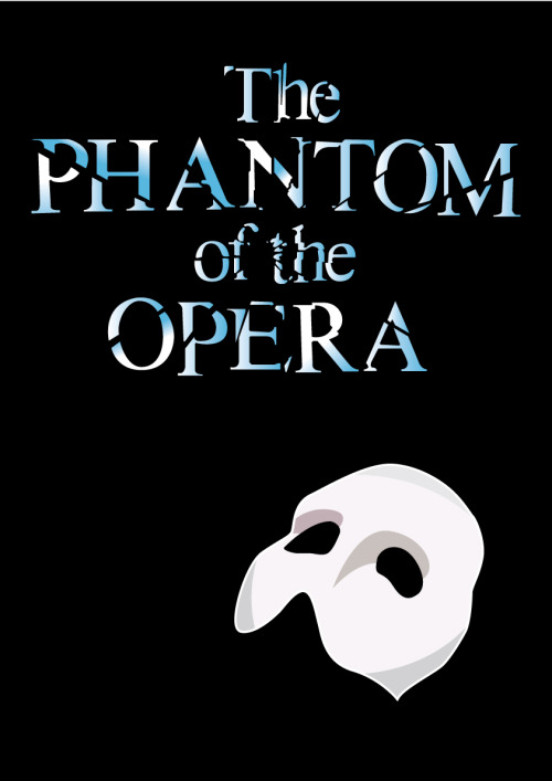 A poster created for a performance of the Phantom.