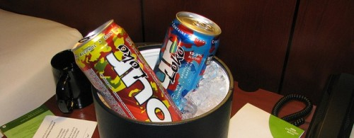 "Four Loko banned in Michigan: Get your blackouts somewhere else ""Blackout in a Can"" is losing the PR battle. So, it appears that Four Loko is about to become persona non grata in convenience stores across Michigan, as the state has banned the drink altogether (along with 55 other alcohol-plus-energy-drink concoctions) in the wake of a sexual assault case involving Four Loko. ""Until further research is done by the FDA, they should no longer be on Michigan shelves,"" said Michigan Liquor Control Commission Chairwoman Nida Samona. The makers of Four Loko are protesting the decision. (photo via ghostdad) source Follow ShortFormBlog"