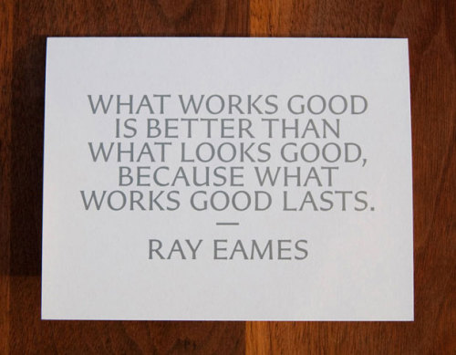 Ray Eames quote. via Pentagram
