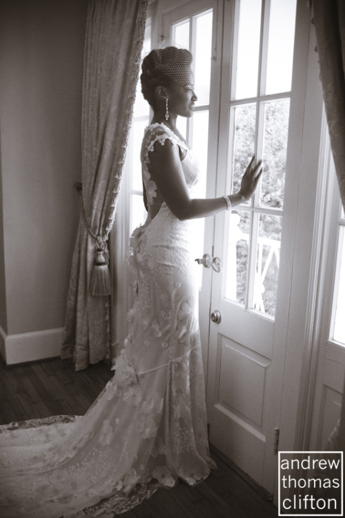 andrewclifton:  Toyin Alonge, a beautiful bride on her wedding day #photog #wedding