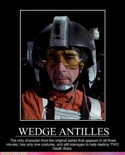 fyeahobscurestarwarscharacters:  the inexterminable Wedge Antilles