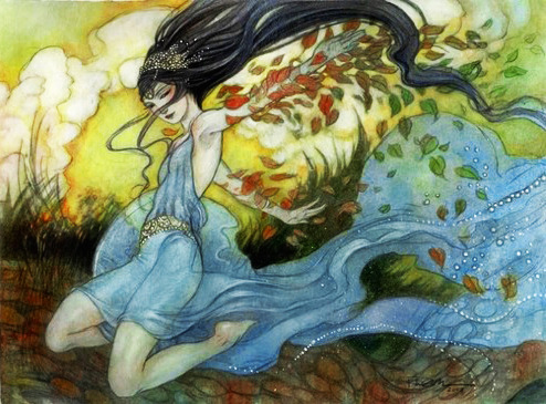 annielestrange:  Channel saturatedoriginal by Rebecca Guay