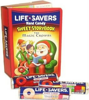 Life Savers Christmas Books  These are a tradition for me. Every year as long as I can remember these would be in my stocking Christmas morning.