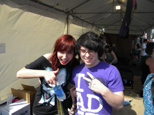 ME AND LIZ LEE (before i had tattoos)