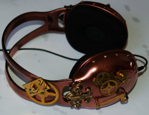 Steampunk Headphones