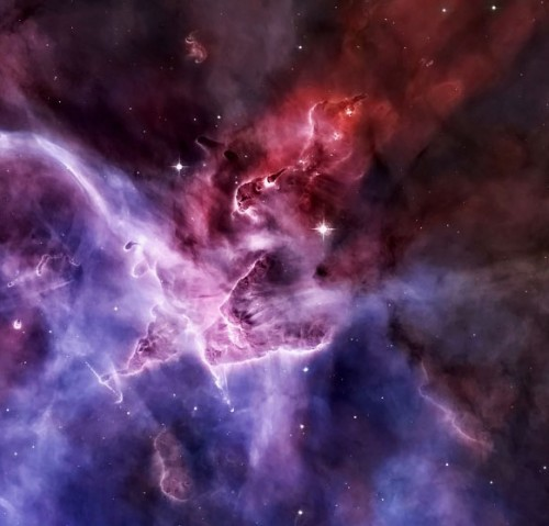 The Carina Nebula in false colour…