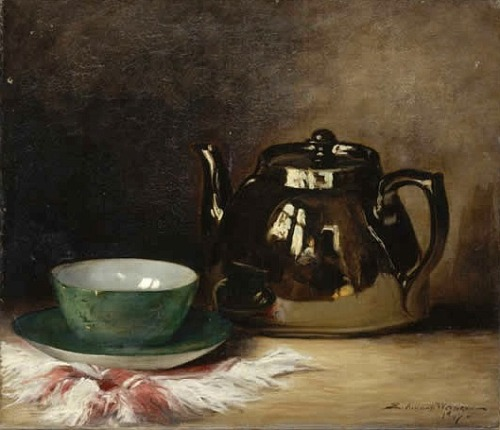 Eva Almond Still Life with Coffee Pot 1898-1907