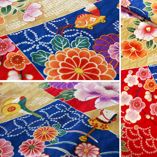 Japanese Antique Pattern Fabric (by karaku*)