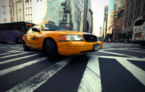 NYC Taxi. Manhattan, New York.