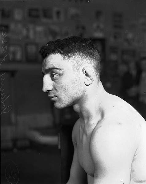 Boxer Johnny Farr