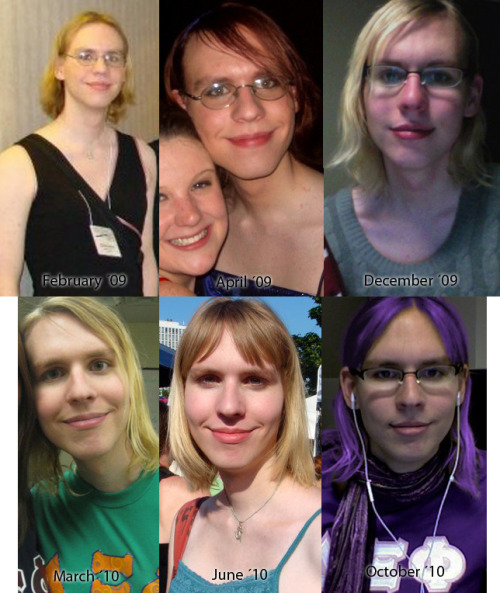 My transition, since early 2009.  I started hormones in May of 2009.