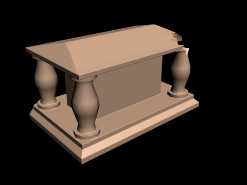 another part of my final 3D project i just modelled