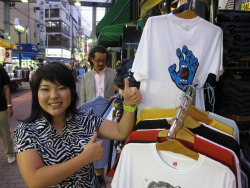Saw this shirt in Japan over the summer. The Japanese dig Santa Cruz Skateboards…Fuck Yeah! (Submitted by ninja-core)