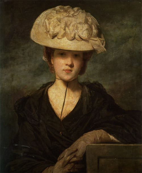 Portrait of Miss Hickey by Joshua Reynolds (1723-1792), date unknown.
