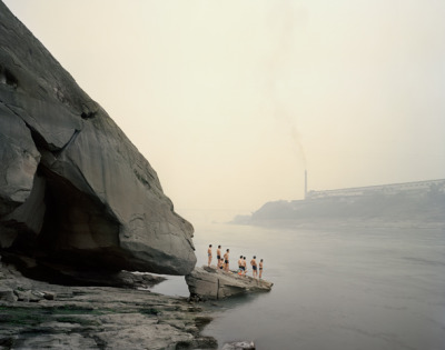 Walking the Rivier, photography by Nadav Kander.