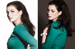 With such retro finesse! suicideblonde:  Anne Hathaway