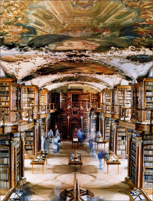 Cool Library of the Day: Abbey Library St. Gallen, Switzerland