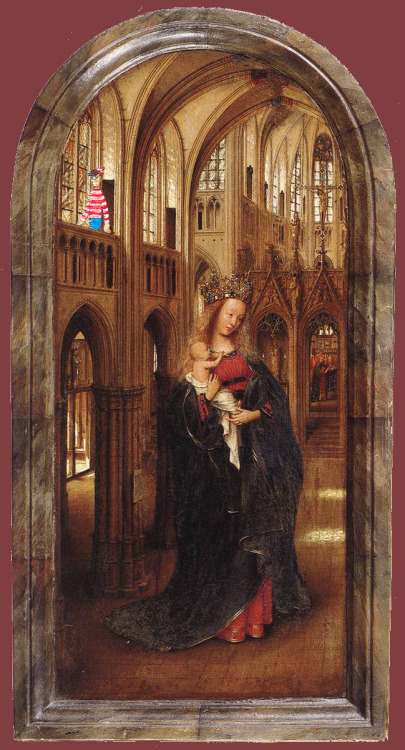 Jan Van Eyck - Madonna in the Church Found by Anya Garrett.